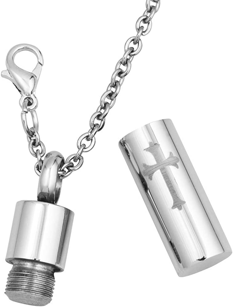 SexyMandala Inifinity Love//Puppy Dog Paw//Corss Cylinder Urn Necklace For Ashes Cremation Keepsake Memorial Pendant