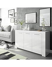 Habitdesign 016621L Mueble de Comedor Moderno, modulo TV Salon, Modelo Ambit