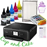 INKUTEN Edible Printer Bundle System Comes with Edible Cartridges and Frosting sheets