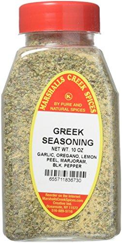Marshalls Creek Spices Kosher No Salt, Greek Seasoning,, 10 Ounce by Marshall's Creek Spices