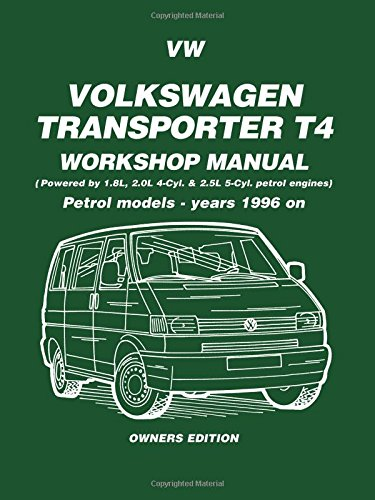 vw transporter t4 workshop manual: owners edition: petrol models - years  1996 on (petrol models 1996 on): amazon co uk: brooklands books ltd:  9781855206793: