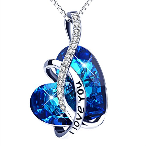 """Sterling Silver """"I Love You"""" H"""