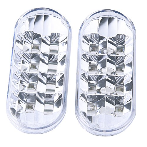 - 1Pair LED Side Marker Light Indicator Lamp White Lens for VW Golf Jetta Bora MK4 Passat B5