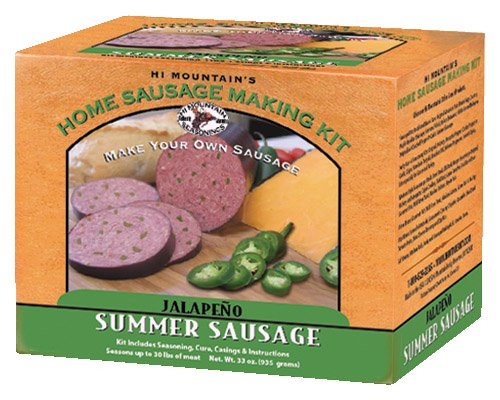 Hi Mountain Jerky Jalapeno Summer Sausage - Hi Sausage Mountain Kits