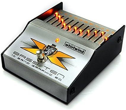 Whirlwind Perfect 10 - Pedal ecualizador de guitarra eléctrica de ...