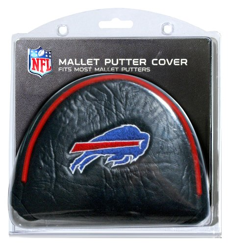 Team Golf NFL Buffalo Bills Golf Club Mallet Putter Headcover, Fits Most Mallet Putters, Scotty Cameron, Daddy Long Legs, Taylormade, Odyssey, Titleist, Ping, Callaway