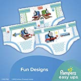 Pampers Easy Ups Disposable Training Underwear Boys 4T-5T (Size 6), 120 Count (One Month Supply)