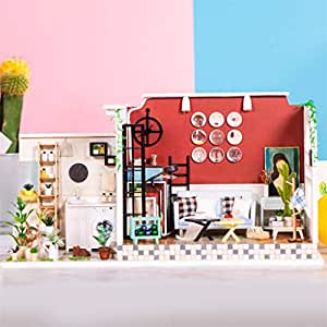 Amazon.com: Maikouhai - Kit de casa de muñecas en miniatura ...