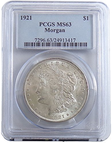 1921 P Morgan Dollar PCGS MS63