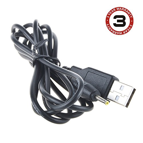 SLLEA USB 2.0 Power Cable Cord Lead for GPX PC807B Personal Portable MP3/CD Player