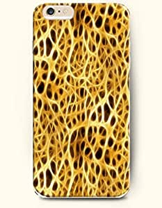 Gold Cheetah Print - Animal Print - Phone Cover for Apple iPhone 6 Plus ( 5.5 inches ) - OOFIT Authentic iPhone Case