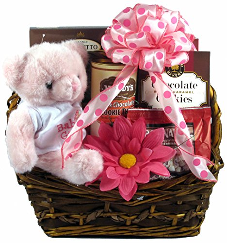 For The Proud Parents of a Precious Princess - Baby Girl Gift Basket For New Parents