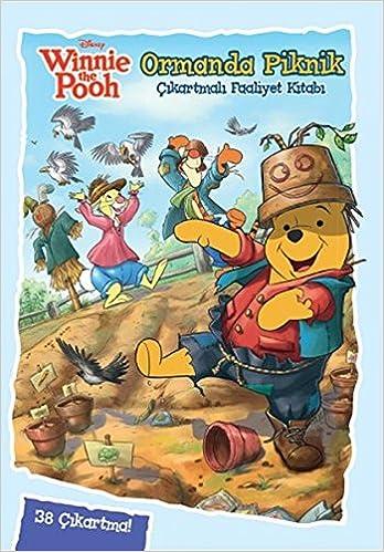 Disney Winnie The Pooh Ormanda Piknik Cikartmali Boyama Kolektif