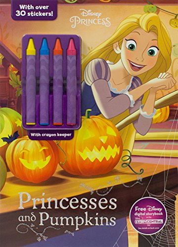 Disney Princess Princesses and Pumpkins (Color & Activity With (Halloween Pumpkins Disney)