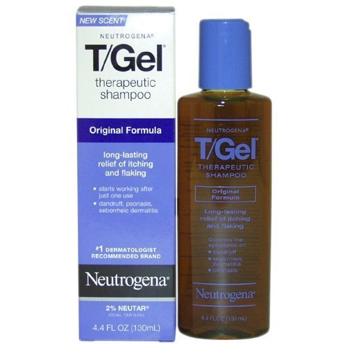 Neutrogena T/Gel Shampoo Therapeutic, Original Formula, 4.4 Ounces, (Pack of 2) by Neutrogena