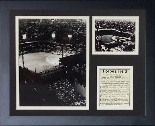 """Legenden Sterben Nie """"Pittsburgh Pirates Forbes Field"""" gerahmtes Foto Collage, 11 x 35,6 cm von Legends Never Die"""
