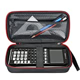 HESPLUS for Graphing Calculator Texas Instruments TI-84 / 83 / Plus CE Hard EVA Shockproof Carrying Case Storage Travel Case Bag Protective Pouch Box