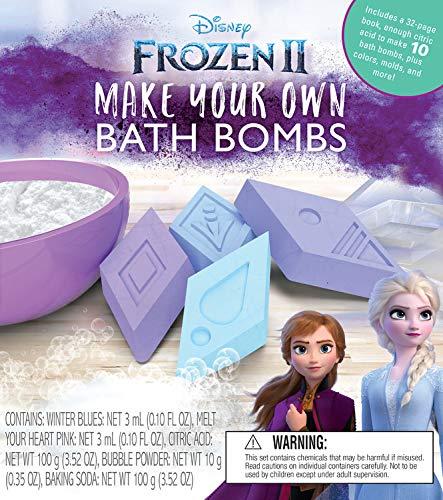 Frozen 2 Make Your Own Bath Bombs (Bath Salts Recipe Epsom Salts Baking Soda)