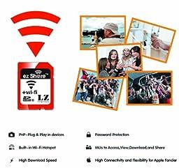 ez Share Wi-Fi Sd Memory Card 16GB Class 10 ,Wireless Combo SD Card 16G ez Share TF Flash Card