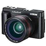 Digital Camera Camcorder WiFi Vlogging Camera ColfunKool Full HD 1080P Video Camera Camcorder