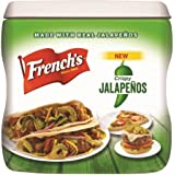 French's Crispy Jalapenos, 5 Ounce Canister (Pack of 2)