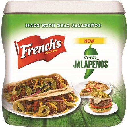 French's Crispy Jalapenos, 2 Containers (Frenches Fried Onions compare prices)
