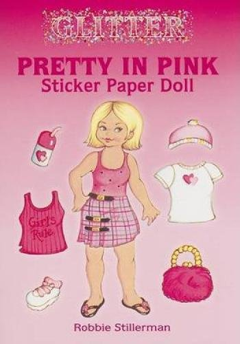 - Dover Publications-Pretty In Pink Sticker Paper Doll