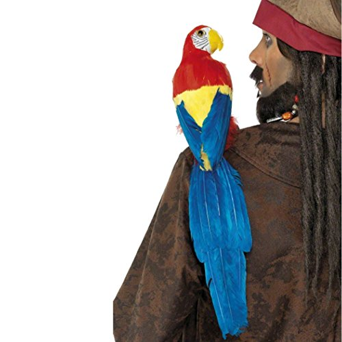 Parrot with Elastic Strap ()