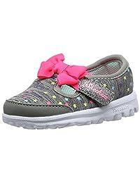 Skechers Girl's GO WALK - STARRY Style Ballet Flats