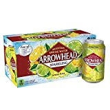 Arrowhead Sparkling Water, Lemon Lime, 12 oz. Cans (Pack of 8)