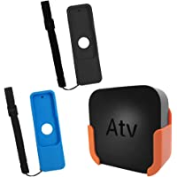TV Mount for Apple TV 4th and 4K 5th Generation,SourceTon Wall Mount Bracket Holder for Apple TV 4th/4K 5th Gen,Bonus 2…