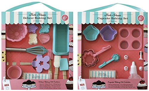 Handstand Kitchen Cupcake and Deluxe Baking for Kids Super Spring Value Set