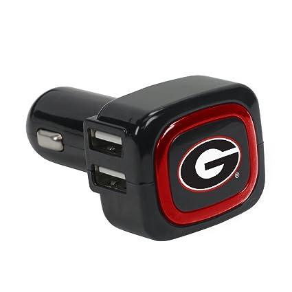 Amazon.com: Georgia Bulldogs 4-Port USB cargador de coche ...