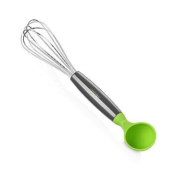 Cozzine Frusta da Cucina in Acciaio Inox con Misurino in Silicone ...