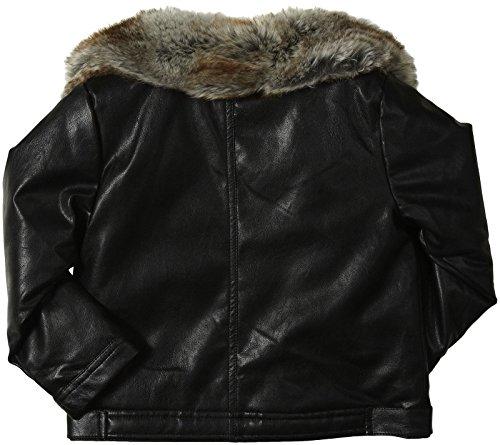 Appaman Little Girls Faux Leather Moto Jacket Toddler