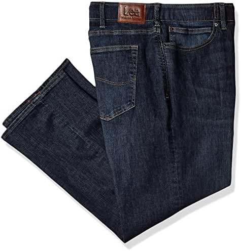 LEE Men's Big and Tall Modern Series Extreme Motion Straight Fit Jean