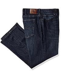 Lee Mens Big-Tall Big-Tall Modern Series Extreme Motion Straight Fit Jean