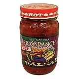 Frog Ranch Hot All Natural Salsa 16 oz. (Pack of 3)