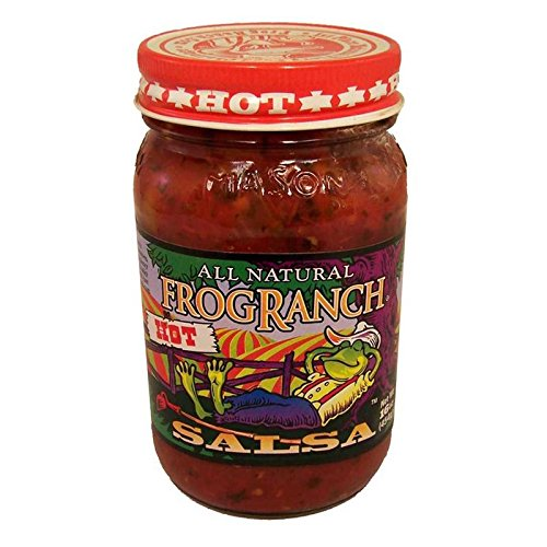 Salsa Ranch - Frog Ranch Hot All Natural Salsa 16 oz. (Pack of 3)