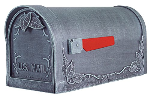 Special Lite Products SCF-1003-SW Floral Curbside Mailbox, Swedish (Special Lite Floral Curbside Mailbox)
