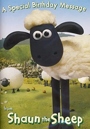 Shaun The Sheep Sound Greeting Card Amazoncouk Office Products