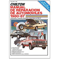Chiltons Spanish-Language Auto Repair Manual 1980-87 (Chiltons Spanish-Language Manuals