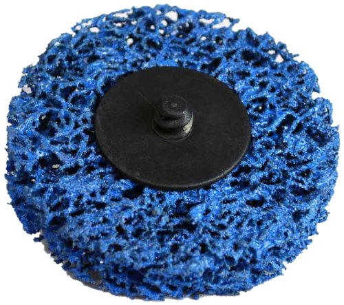 Astro 22611 1pc 3-Inch Blue Woven Strip Disc