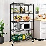 Simple Deluxe HKSHLF29146105G Heavy Duty 5-Shelf