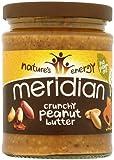 Meridian Natural Crunchy Peanut Butter - No Added Sugar and Salt, 280g