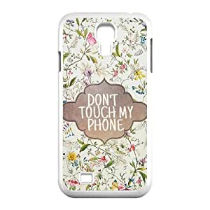 FLYBAI Painted Flower Phone Case For Samsung Galaxy S4 i9500 [Pattern-1]