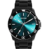 PICONO Balloon Water Resistant Analog Quartz Watch - Turquoise
