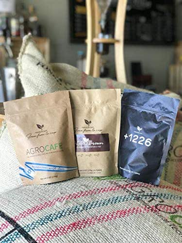 Agrocafe Fair Trade Colombian Espresso Ground Coffee Roasted in Israel