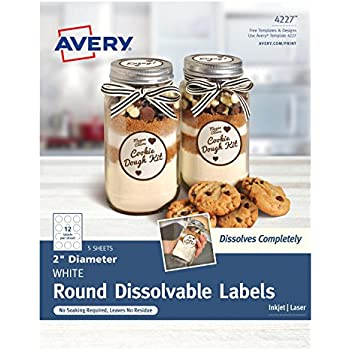 amazon com avery textured oval labels white 1 125 x 2 25 inches