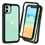 Wireless : OTBBA iPhone 11 Case, Full-Body with Built-in Screen Protector Heavy Drop Protection Shock Absorption Cover Case Designed for iPhone 11 - 6.1 inch